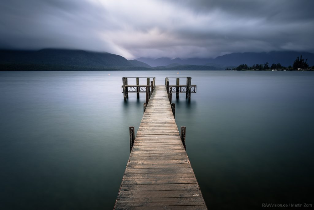 Steg am Lake Te Anau